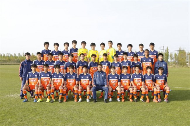 16<アルビレックス新潟U-18>チーム集合写真_R